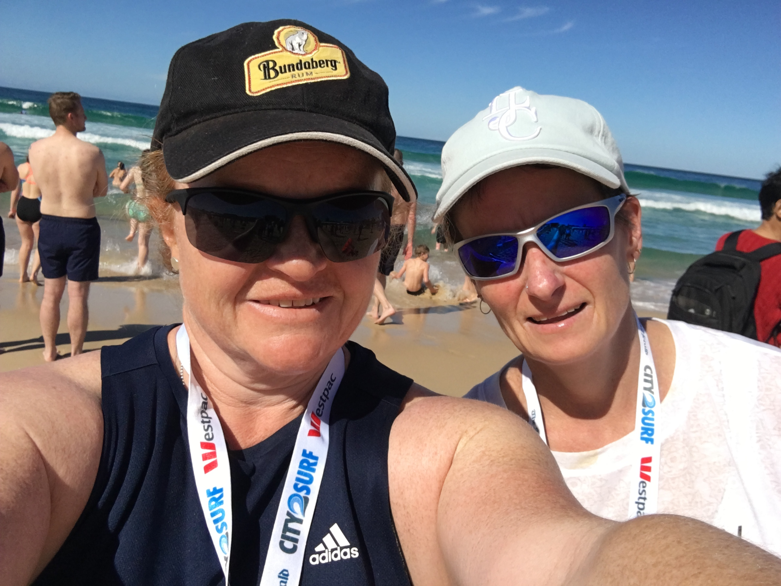 jane and michelle city2surf 2017